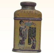 Lazell Massatta Sample Talc Tin