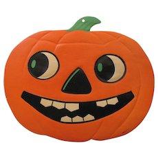 Halloween Large Smiling JOL Die Cut Embossed