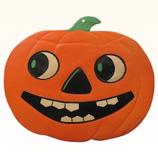Halloween Large Smiling JOL Die Cut Embossed