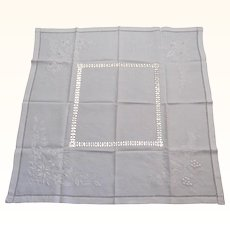 Tablecloth String Work & Embroidered Design