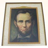 Calendar Print of Abraham Lincoln