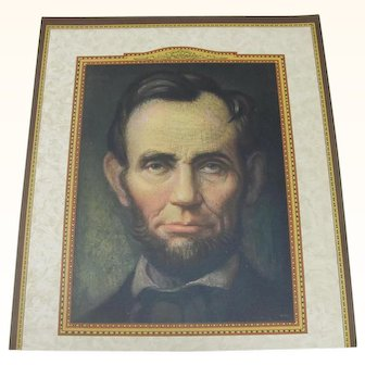 Calendar Print of Abraham Lincoln