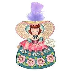 Hallmark Mary Mary Quite Contrary Doll Card Envelope