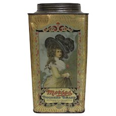 Morses Duchess Brand 5 Pound Candy Tin