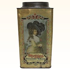 Morses Duchess Brand 5 Pound Candy Tin
