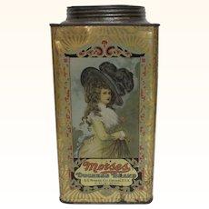 Morses Duchess Brand 5 Pound Tin