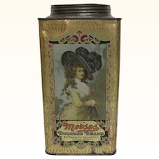 Morses Duchess Brand 5 Pound Tin