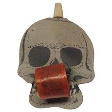 Halloween Skull Party Noisemaker