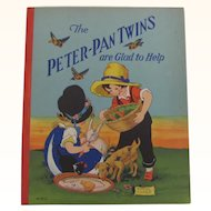 Peter-Pan Twins are Glad to Help Board Cover Book