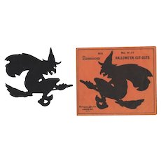 Halloween Six Witch Cutouts With Dennison Envelope