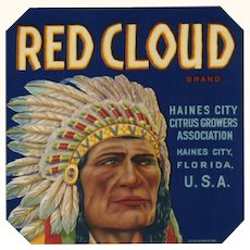 Citrus Label Red Cloud Haines City FL