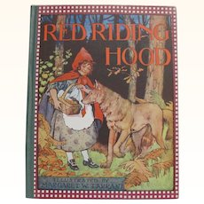 Red Riding Hood Illustrated Margaret W. Tarrant