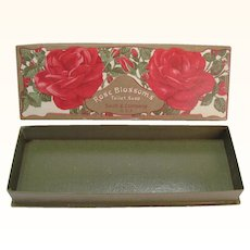 Rose Blossoms Toilet Soap Box Swift Co
