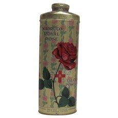 Nadruco Royal Rose Talc Tin