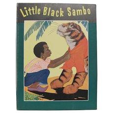 1943 Little Black Sambo Book Hardcover