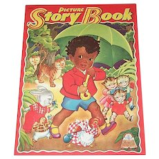 1943 Picture Story Book Little Black Sambo & Others