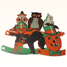 Halloween Six Standup Decorations With Envelope