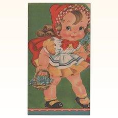 1941 Little Red Riding Hood Children's Book