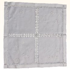Small Square String Work Table Cover