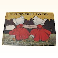 1907 Sunbonnet Twins Children's Book