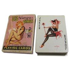 Vintage Full Deck Vargas Girls Playing Cards