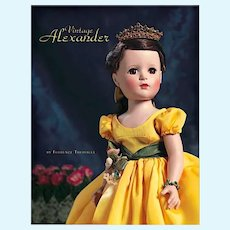 """Vintage Alexander"" Auction Reference Book - 250 Rare dolls 1930- 1965"
