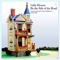 """Little Houses by Side of Road"" - Gottschalk, Hackler, R. Bliss Dollhouses - New Old Stock 2001 Reference"