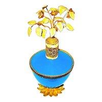 DeVilbiss Murano Opaline Glass Perfume Atomizer - Rare 1960's Production