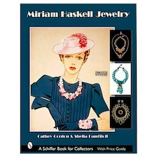 The Classic Miriam Haskell Jewelry Reference Book - Vital Collector Information - 600 Color Photos - Excellent
