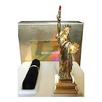 "2000 Estee Lauder ""Statue Of Liberty"" Solid Perfume Compact - MIB - Bargain Buy"
