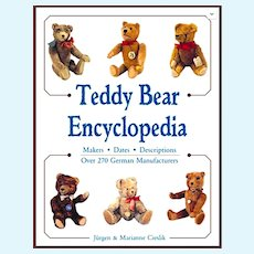 Teddy Bear Encyclopedia - HB 239 Pages - 423 Color Photographs - by Ciesliks - Brand New Old Store Stock
