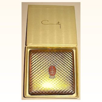 HTF Unused Vintage COTY Compact w Perfumed Powder, MIB