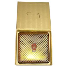 HTF Unused Vintage COTY Compact w Perfumed Powder, MIB
