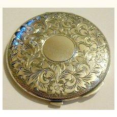 Gorgeous Birks Ladies' Slim Sterling Silver Compact