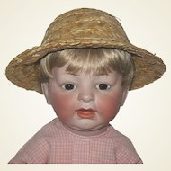 Adorable German Character Baby Doll ~ Mold 522 ~ Rare Unknown German Doll Maker