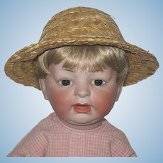 Adorable German Character Baby Doll ~ Rare German Mold 522 - 7