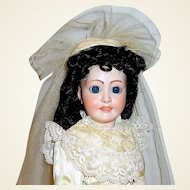"18"" French Limoges Lady Doll by Ed Tasson, ""Favorite 8"", Exquisite Costume"