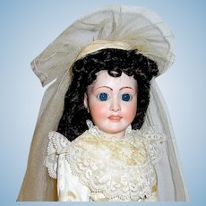 """18"""" French Limoges Lady Doll by Ed Tasson, """"Favorite 8"""", Exquisite Costume"""