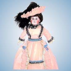 Rare 309 Bahr & Proschild Belton Doll, 19th C.,  Elegant Costume