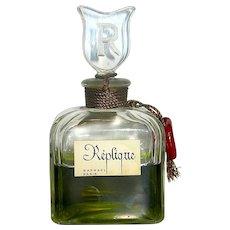 "Beautiful ""Replique"" Factice Perfume Bottle - Sealed - Excellent"
