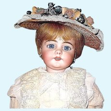 """Exquisite 22 1/2"""" Simon Halbig 739 French Mkt Doll - Beautifully Dressed - EXCELLENT"""