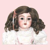 Precious Handwerck 109 Cabinet Doll on Orig. Body with Pretty Pet