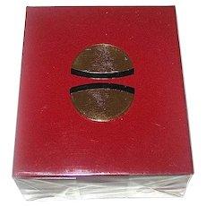 "Guerlain ""SAMSARA"" Mini Perfume Bottle, Sealed in Cellophane Wrapped Box"