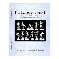 """""""Ladies Of Hertwig"""" Reference Book - Half Dolls, Bathing Beauties, Art Deco Ladies"""