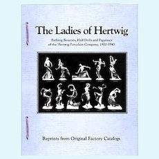 """Ladies Of Hertwig"" Reference Book - Half Dolls, Bathing Beauties, Art Deco Ladies"