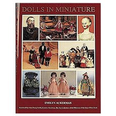 The Doll In Miniature 1800 - 1910,  Reference Masterpiece, 702 Photos, New Old Stock