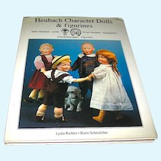 Heubach Character Dolls & Figurines Reference Book - 275 Color Photos w Information