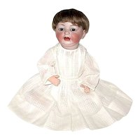 """Extremely Rare Antique German """"522"""" Baby Doll - Great Character Mold"""