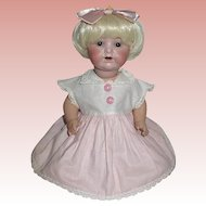 Scarce Armand Marseille 990 Baby Doll in Adorable Outfit--Free Shipping