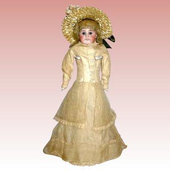 """Rare Bahr & Proschild Pouty Fashion Doll in All Original Costume - 15 1/2"""""""